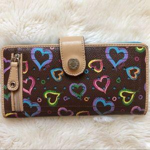 XOXO Colourful Heart Wallet